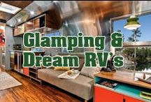Dream Home-On-Wheels / We all love dreaming. You'll find your dream RV's, campers, and trailers here.