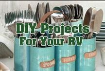 DIY Projects for your RV / Feeling crafty? Find fun and inexpensive DIY projects here.