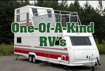 One-Of-A-Kind RV's / One of a kind and unique RV's, trailers, campers, fifth wheels and every combination!