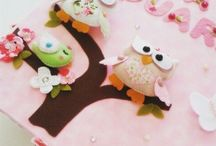 Caixa decorada / porta trecos corujas caixa em mdf de corujas corujinhas