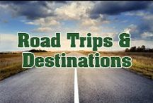 Road Trips & Destinations / Life is a highway! Take a peek into the magnificent world that your RV will take you too.   Not all who wander are lost. - J. R. R. Tolkien