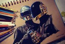 Pen & Pencil Arts / Arts made by pens and pencils