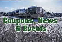 Outdoor Travel News & Events / There's never a dull moment here! We'll update this board with coupons, pictures and news from the inside of our family dealership.
