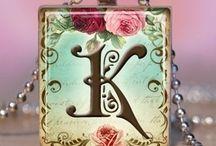 Letter k for my name / by Karli Jensen:)