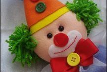 o circo chegou - decoração de festa infantil / aqui estarão postada varias peças de decoração para festa, começando cm um modelo de centro de mesa
