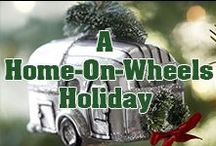 A Home-On-Wheels Holiday / Need some RV themed inspiration? ! Here's some festive RV joy for the holiday season!