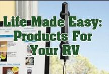 Products for your Home-On-Wheels / You can find useful products and items for your RV here!