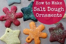 Super Salt Dough / Check out of great board filled with  fantastic salt dough crafts!