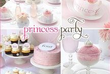 Plan a perfect princess party! / This board will give you loads of hints, tricks and ideas for throwing the perfect princess party for your little ones! #Kids #Party #Princess