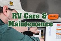 RV Care & Maintenance / Your RV has kept you warm on those chilly nights and kept you cool  on those sweltering days. For your RV to keep you safe and sheltered regular maintenance is undeniable. This board is filled of questions and answers for RV care and regular maintenance. (Pssst...some you can do yourself!)