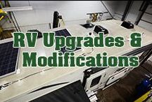 RV Upgrades & Modifications / Your RV is like a blank canvas and customizing, altering and modifying are your paint brushes. Use these upgrades to inspire your dream RV or trailer.