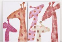 Giraffes on Canvas / Giraffes on Canvas.