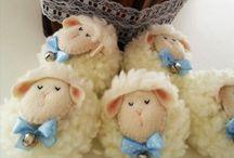 chaveiro ovelhas