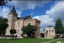 Slapen op een kasteel / In Nederland zijn heel veel mooie kastelen en landgoederen waar je kunt overnachten. Een kasteelovernachting is altijd bijzonder, en wanneer je dit kunt delen met familie en vrienden is het extra leuk. Op dit bord vind je de leukste kastelen en landgoederen om met een groep te verblijven. Maar romantisch met z'n tweetjes kan natuurlijk ook.