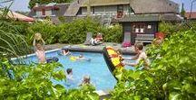 Groepsaccommodatie met zwembad / Groepsaccommodatie en vakantiehuizen met een zwembad. Lekker ontspannen dobberen in je eigen binnen- of buitenzwembad op één van deze groepsaccommodaties.