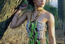 Tabatap fashion / Pics of my design works, cultural yet stylish clothing---african-caribbean fashion---