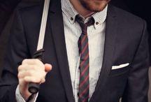 Suits. / I love suits.