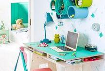 Canto para estudar / cantos com mesas e escrivaninhas