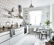 Skandinavische und minimalistische Küchen / Küchengestaltung, Küchenplanung, Einrichtungsideen Küchen