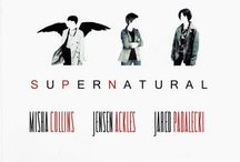 Supernatural / When someone says this is just a show, it's obvious they've never watched it in their life, because if they did, they'd know it's more, much more. It's love, it's friendship, betrayal, sacrifice, violence, Heaven and Hell and everything in between. A tale of two brothers, their lives and those lives they've touched. A family business where family don't end in blood. Not just a show, but so much more. / by Kierstin Coldiron