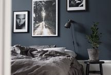 INTERIOR Wall color | Wandfarbe / Half Painted Wall Inspiration and colored walls, Graue Wände, Wände streichen