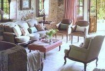 Interiors: livingroom e diningroom