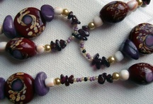 Beaded Jewelry / Handcrafted beaded jewelry created with semi-precious stones, wood, glass and ceramic beads.