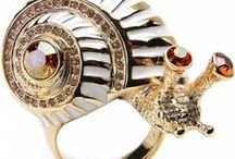 Jewelry: Modern Costume / A collection of modern costume jewelry by various designers.