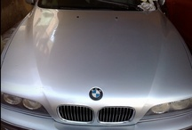 BMW 528 (1996 model)  / BMW 528 cleaning operation.