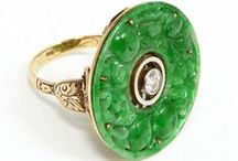 Jewelry: Vintage Fine / Jewelry made from silver,gold or platinum and/or precious stones.