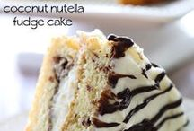 Food: Sweet Tooth / A variety of  desserts I want to try:D