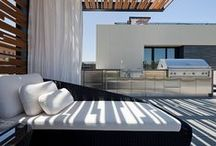 Modern Garden Furniture / A bit of the contemporary, modern, and just plain unique