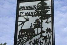 Village / Photos of new and old Holmbury