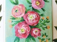 Frances Newcombe painting and illustration / Original art work