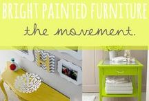 DIY-Furniture / A variety of projects to do yourself on unwanted,unused,unloved furniture and to give it new life with minimal effort.