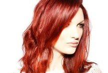 Red Hot / Red hair never be so hot .... We have many brilliant colorists who can create the color compliment your style and image.