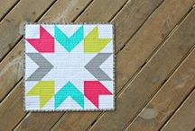 quilt blocks! / Striking quilt blocks that I love