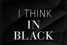 Fashion: I THINK IN BLACK / Black fashion and accessories
