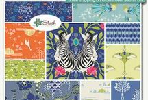 SAFARI MOON / My first fabric collection with Art Gallery Fabrics