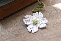 ♥︎  Crochet ~ flowers  ♥︎ / by Maron Chibi