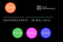 Nätverksträff 28/5 2014 / Föreläsare, deltagare och presentationer