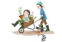 Mars 2014 - Box créative KIDS / Dans mon jardin