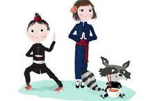 Mai 2014 - Box créative KIDS / Une box créative pour faire voyager votre enfant au Pays du Soleil Levant : 3 missions ludiques et variées qui lui feront découvrir le Japon sous tous ses aspects.