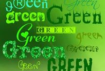 Fashion: GREEN,green,GrEeN / Green fashion and accessories.