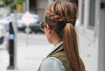 Braids & Curls & Waves / Hair inspiration & ideas
