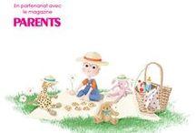 AVRIL 15 - Box BABY 0-36 mois / Chic ! On pique-nique ! En avril, nous vous donnons rendez-vous autour d'un pique-nique, allongés dans l'herbe, à profiter des premiers rayons du soleil ! Comme toujours de beaux produits sont au rendez-vous tout comme votre magazine Parents !