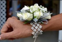 Proms / Flower wristlets, presentation bouquets, boutonnieres, leis & much more