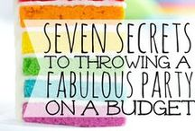 Let's Party / Escaping the mundane and using creativity to make any party awesome while planning it regardless of the cost.