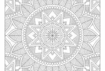 Drawing ~ printables / Colouring pages; bookmarks, mandalas and more.