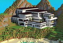 Minecraft ~ building / Ideas for buildings and furniture in Minecraft.